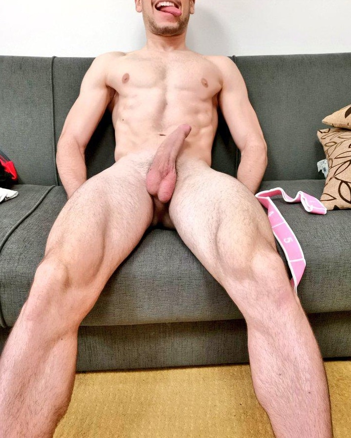 Guy with a hot body