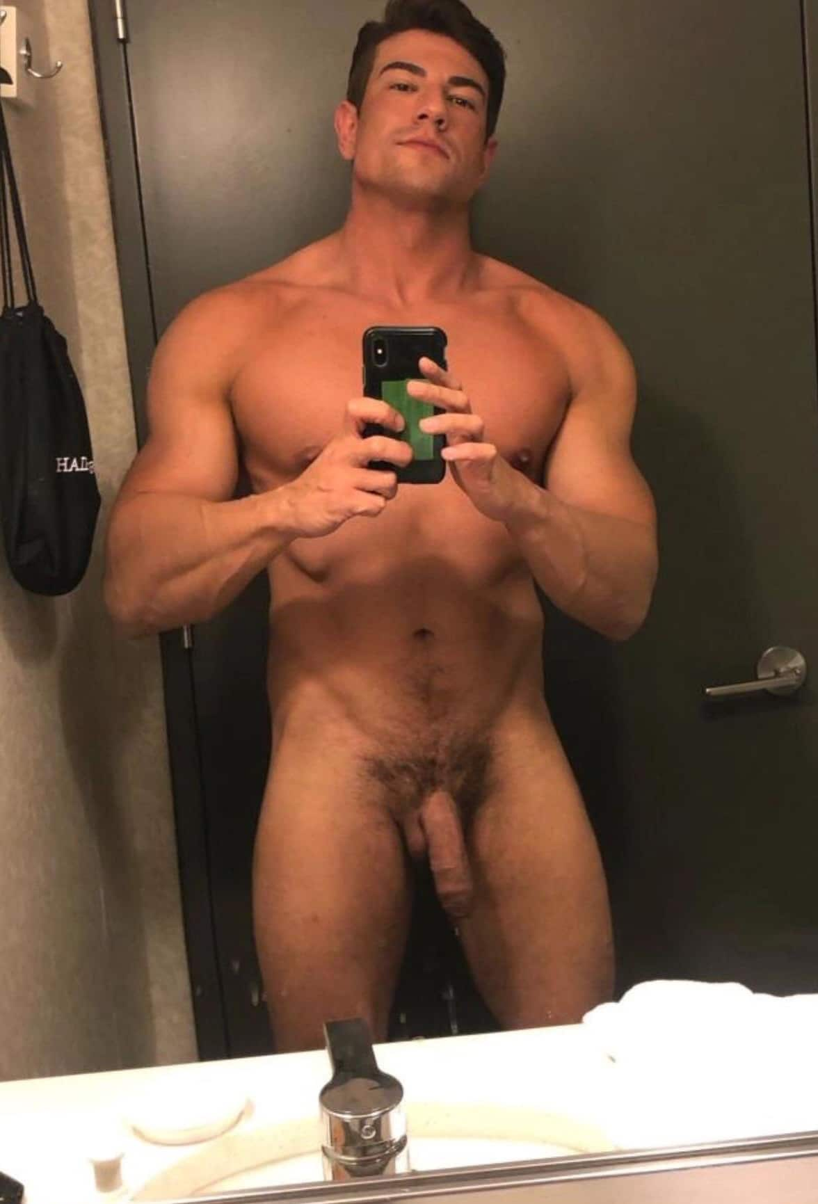 Hunk with a big soft cock