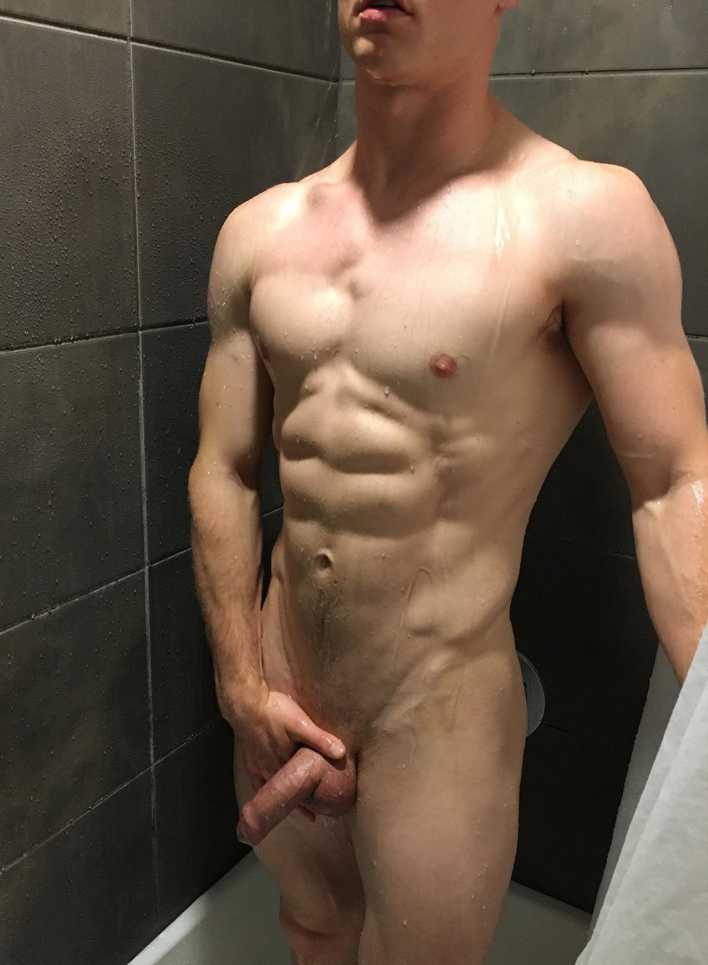 Perfect body and cock